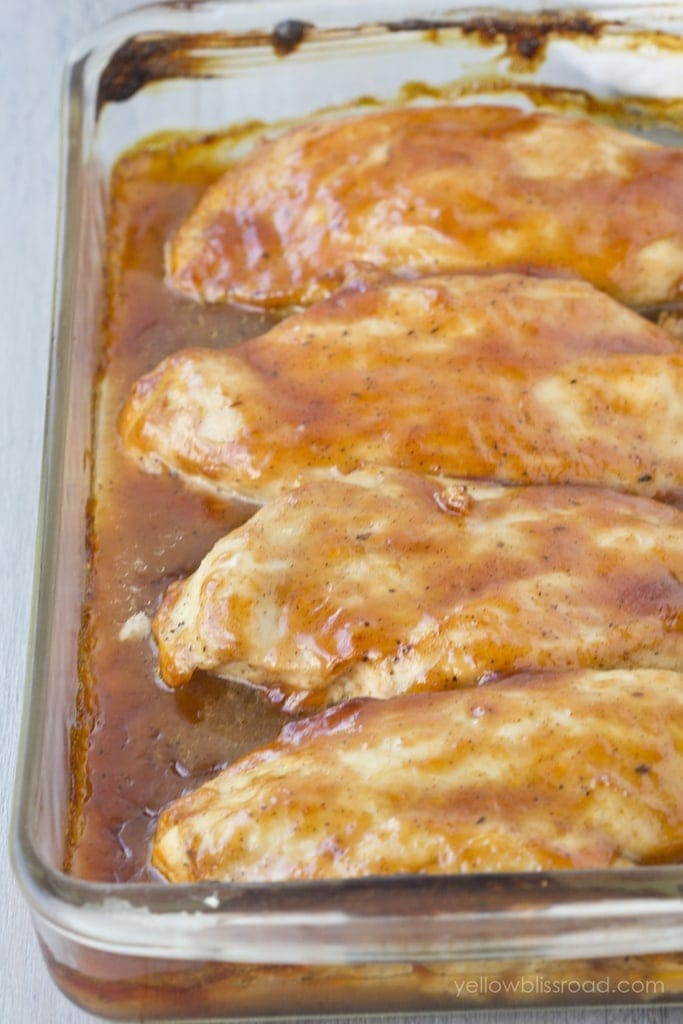 Tender and Juicy Baked Barbecued Chicken