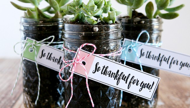 """""""Thankful for You"""" Gift Idea with Free Printables"""