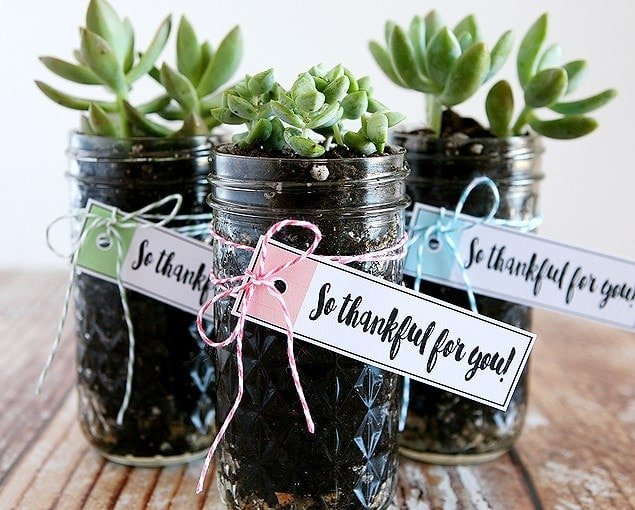"""Thankful for You"" Gift Idea with Free Printables"