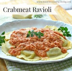 Crabmeat Ravioli