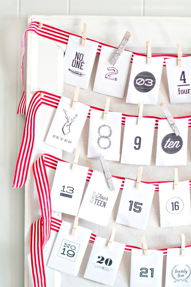 DIY Advent Calendar with Activity Cards