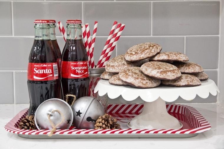 Share a Coke with Santa