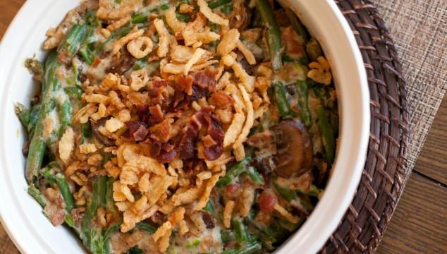 Bacon & Green Bean Casserole