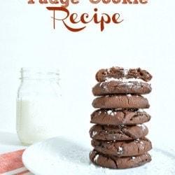 Social media image of Chocolate Fudge Cookies