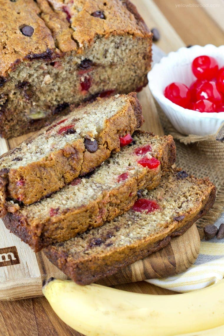 Banana Split Bread