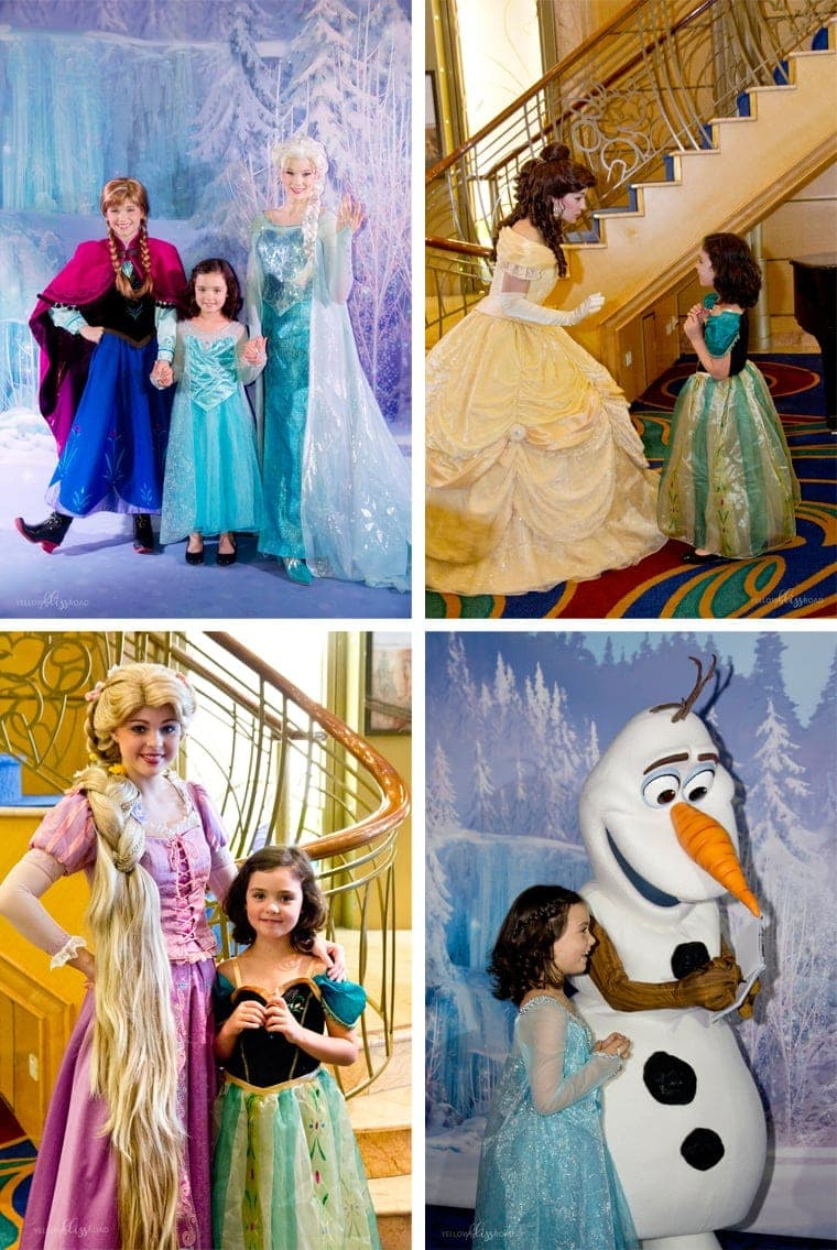 Character Meet and Greets Aboard the Disney Wonder Cruise to Alaska