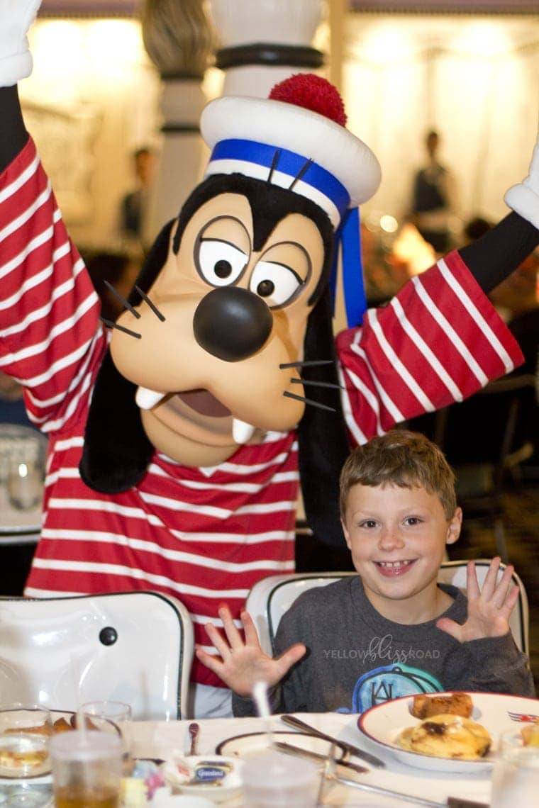 Disney Cruise Line Character Breakfast 2