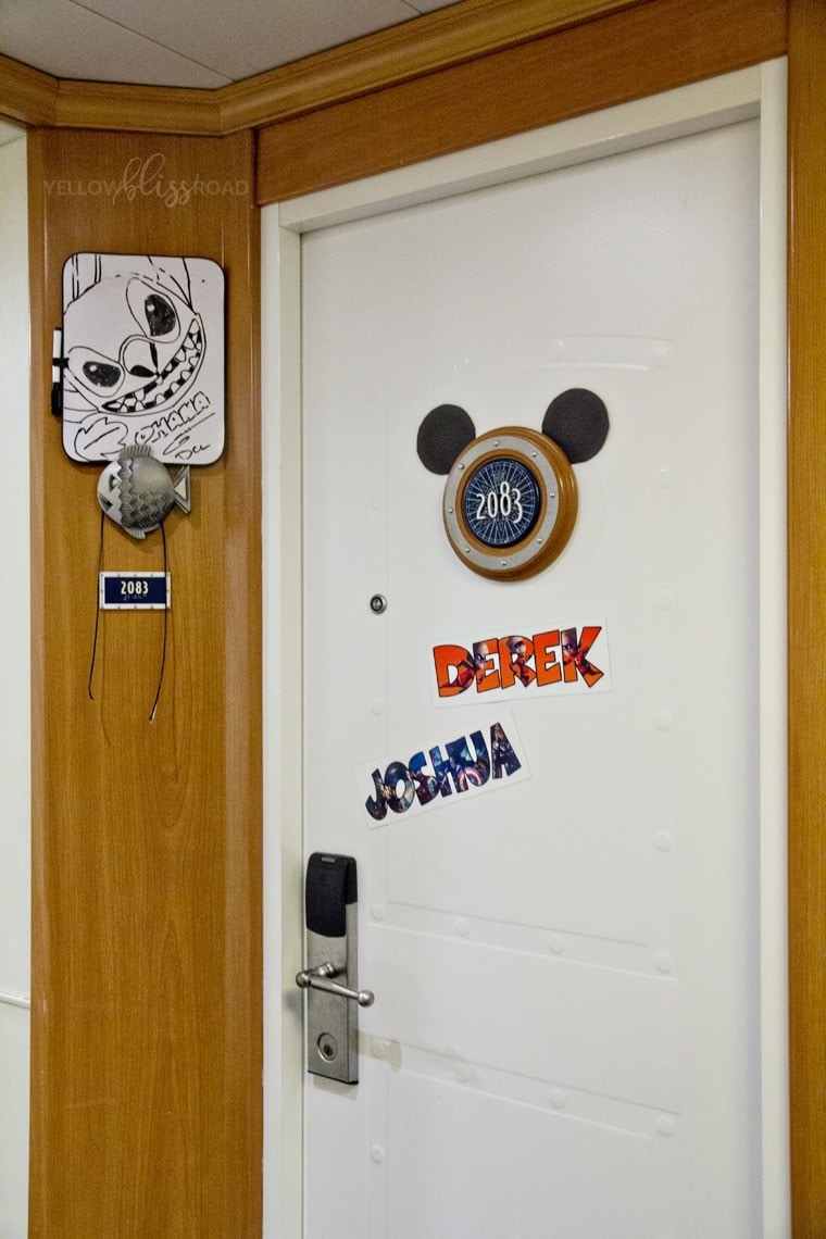 Disney Cruise Line Door decorating 2