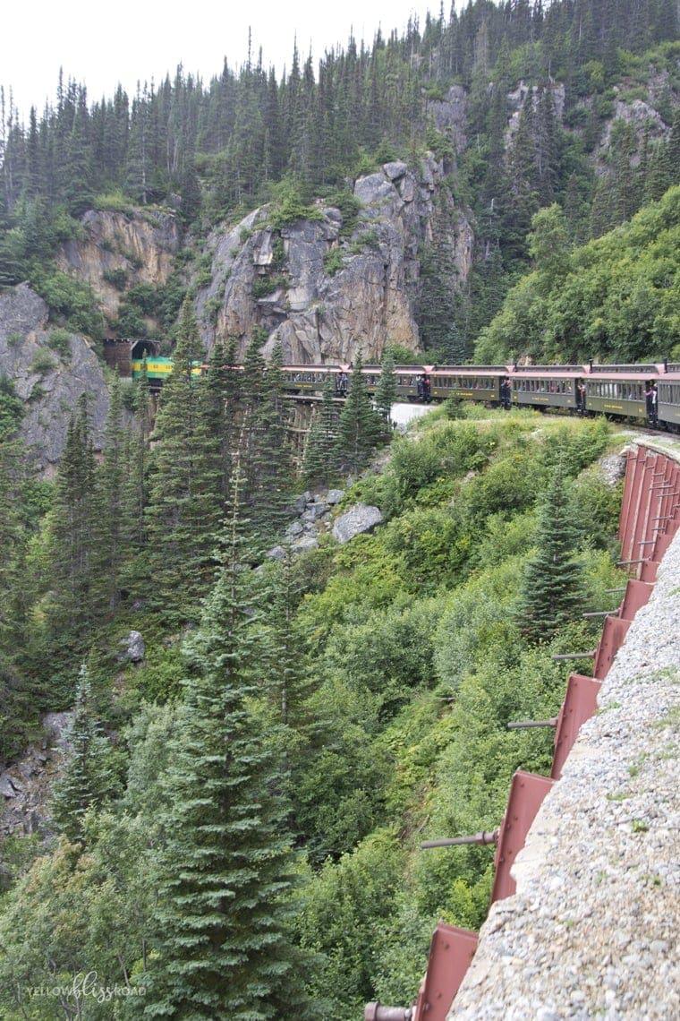 Skagway Alaska Whitepass Railroad