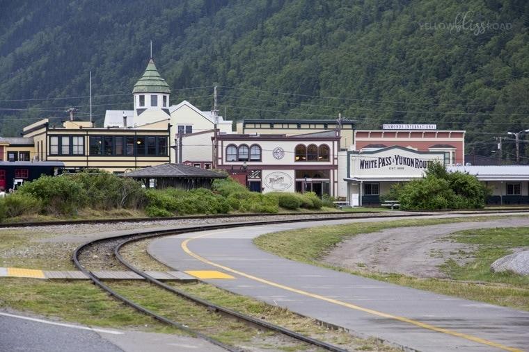Skagway Alaska Whitepass Railway