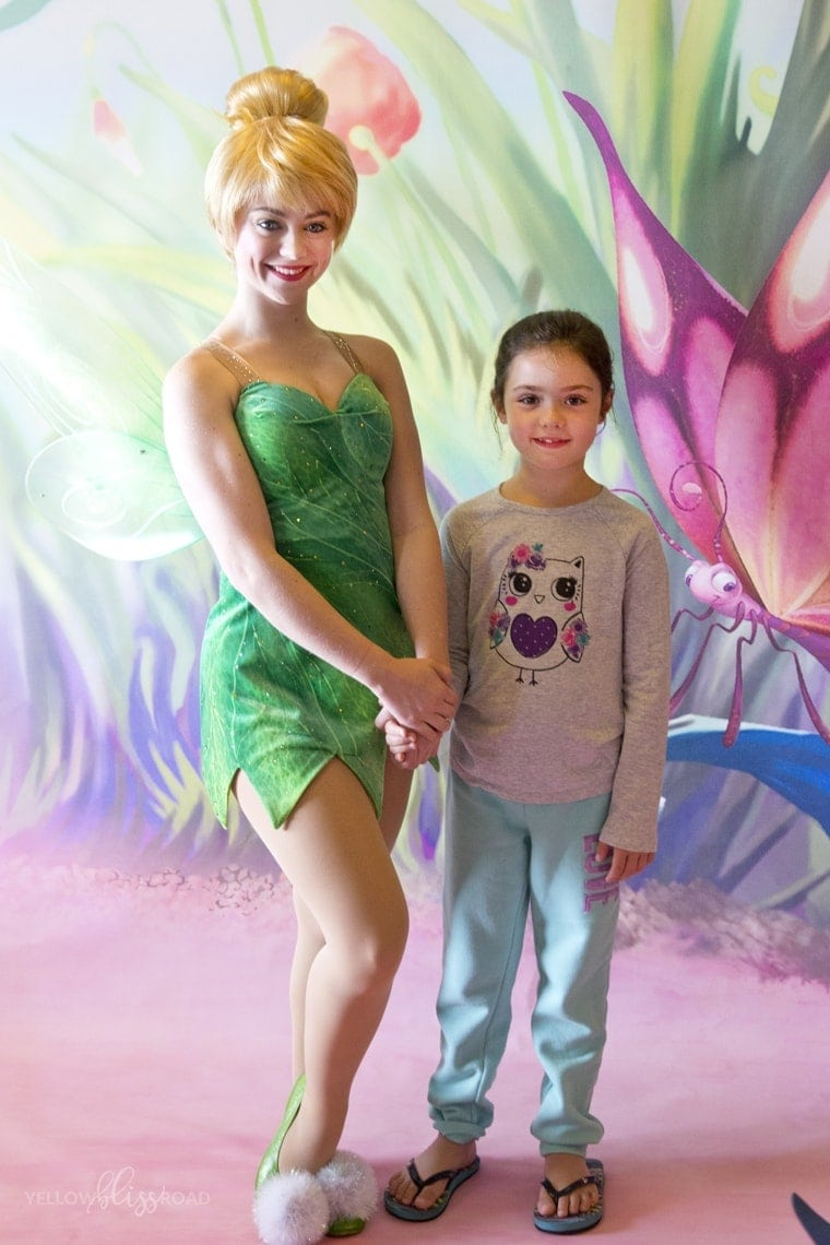 Tinkerbell meet and greet