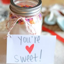 Valentine's Sugar Cookie Mix Gift Idea