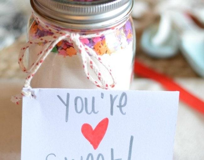 Valentine's Sugar Cookie Mix Gift Idea