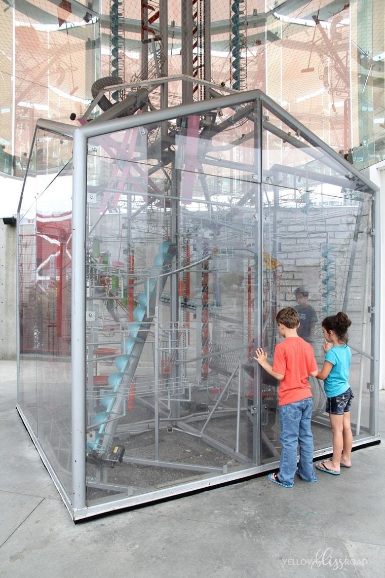 Vancouver vacation children's museum visit