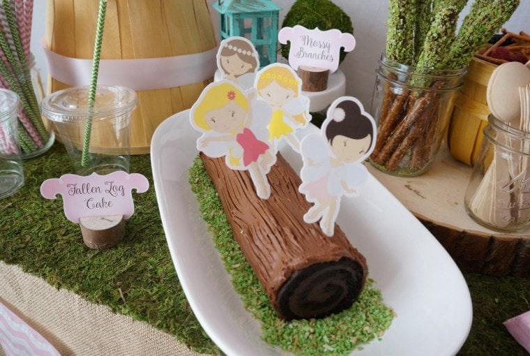Woodland Fairy Party with Free Printables
