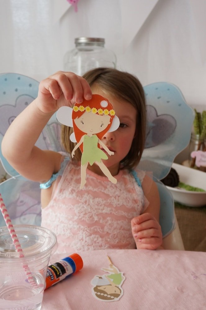 Woodland Fairy Party - Fairy Paper Doll - Free Printable
