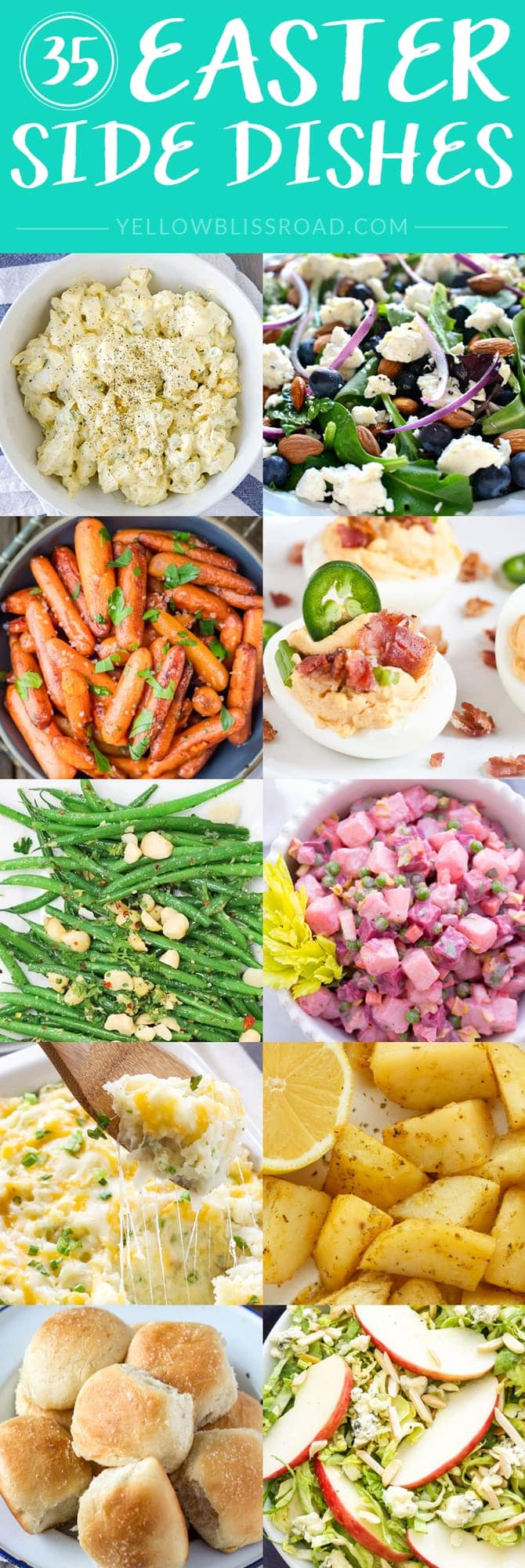 35 Easter Side Dishes - NEW for 2016!