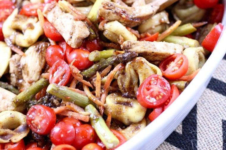 Balsamic Tortellini Salad