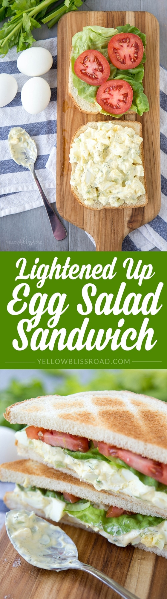 Lightened Up Egg Salad Sandwich
