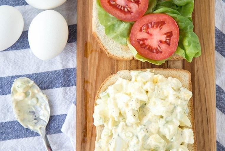 Lightened Up Egg Salad