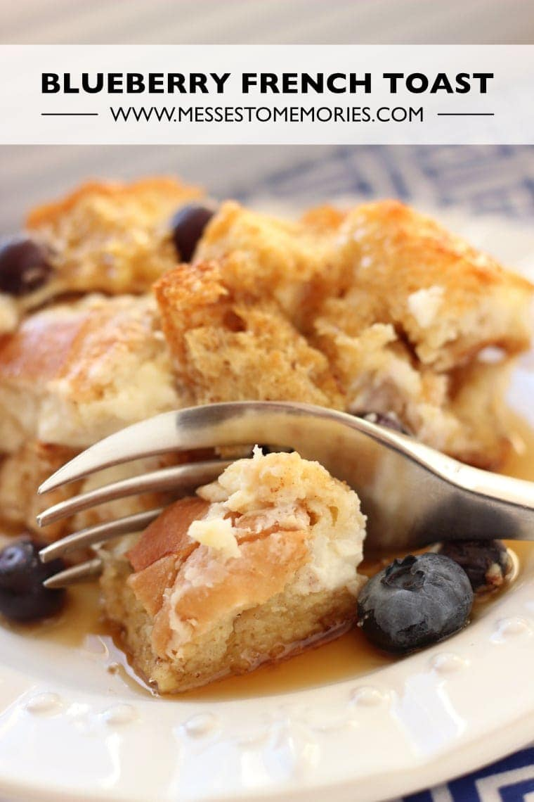 Blueberry French Toast Bake Recipe