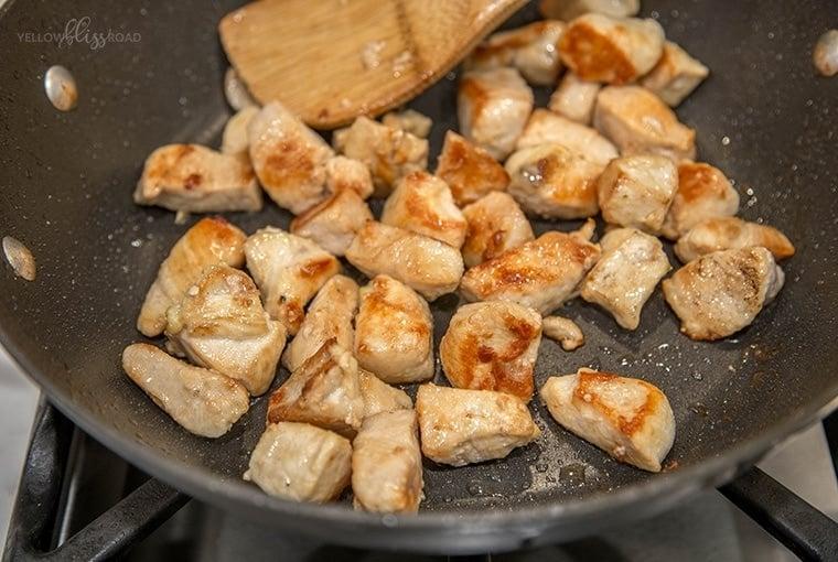 Chicken & Asparagus Stir Fry 2