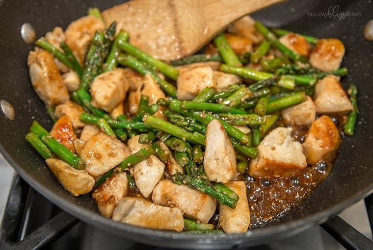 Chicken and asparagus stir fry yellow bliss road chicken asparagus stir fry 3 ccuart Gallery