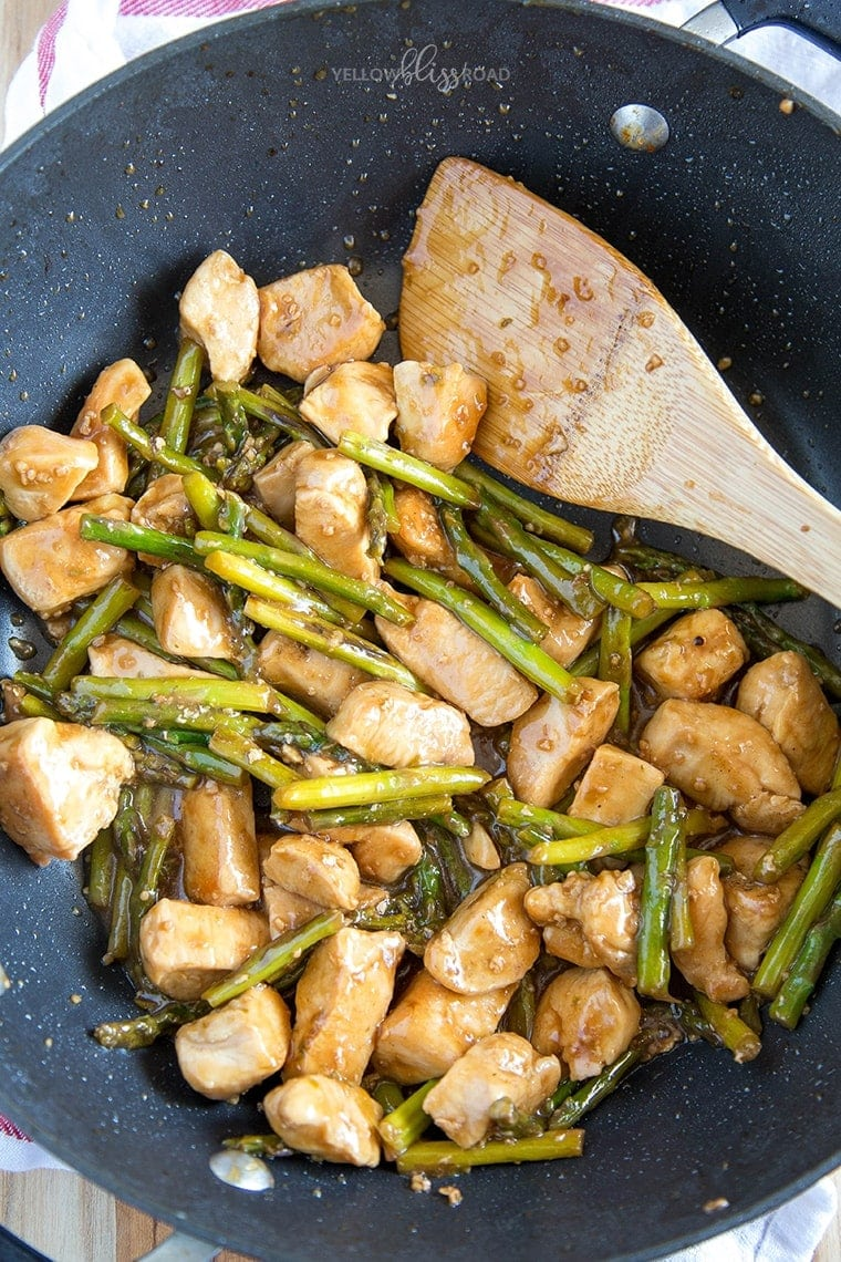 Chicken and asparagus stir fry yellow bliss road chicken asparagus stir fry 4 ccuart Gallery