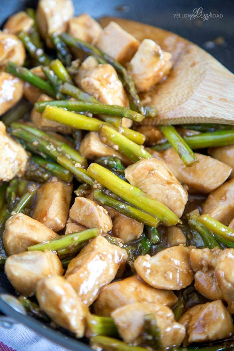 Chicken & Asparagus Stir Fry 5