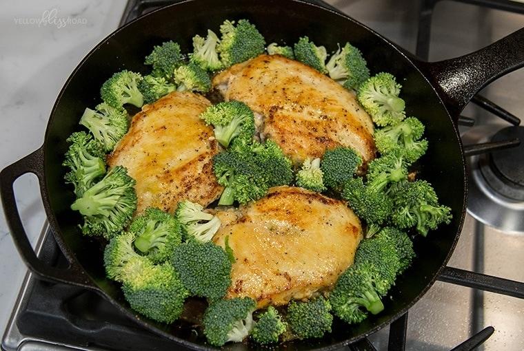 Lemon Chicken & Broccoli 3