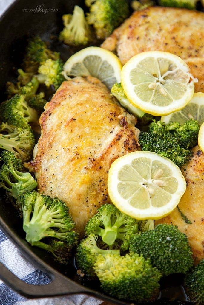 Lemon Chicken & Broccoli 7