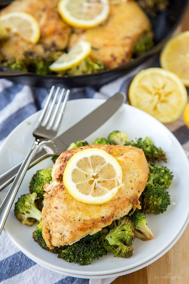 Lemon Chicken & Broccoli 8