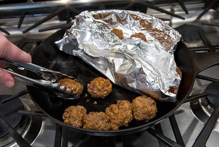 Parmesan Meatballs 14