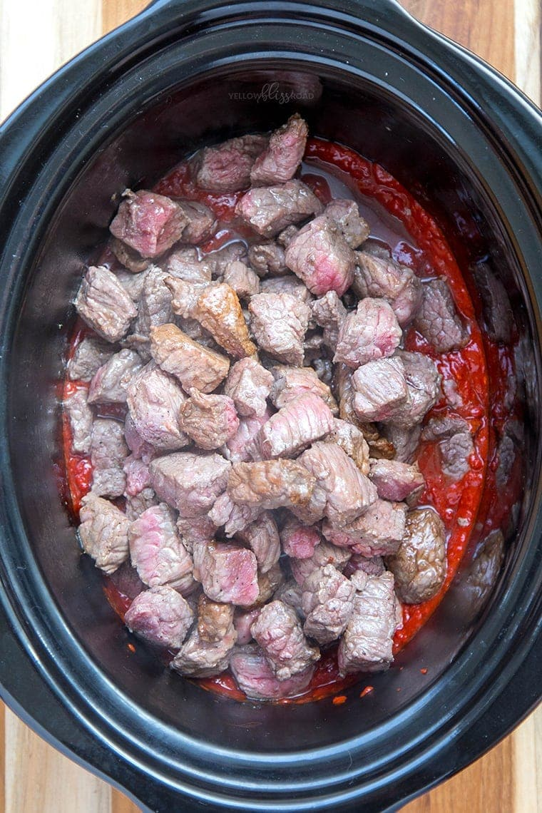 Slow Cooker Red Chile Beef 14