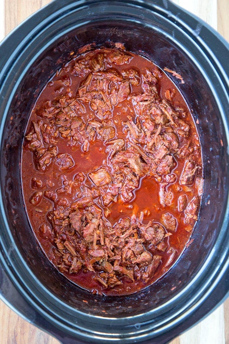 Slow Cooker Red Chile Beef 16