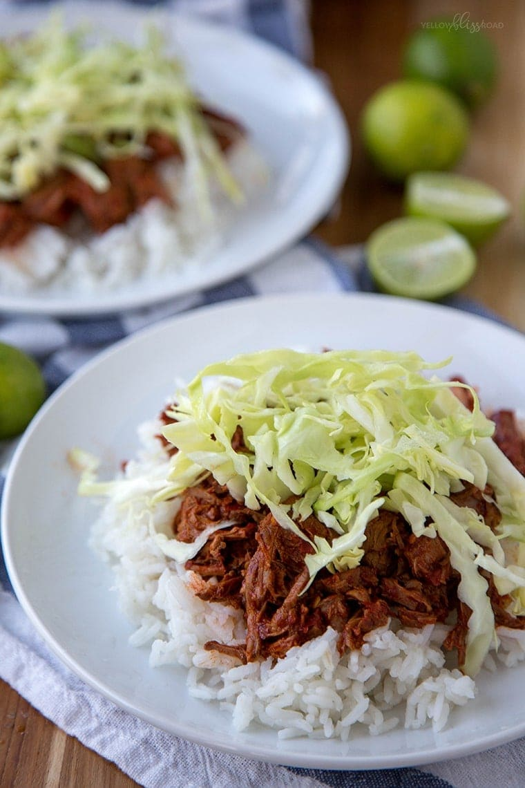Slow Cooker Red Chile Beef 17