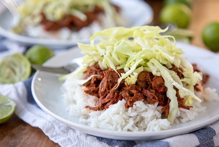Slow Cooker Red Chile Beef 18