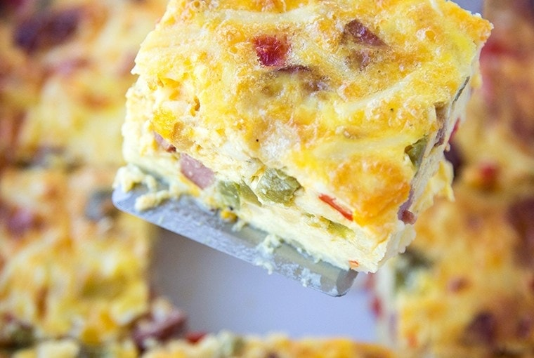 Smoked Sausage & Hash Brown Breakfast Casserole