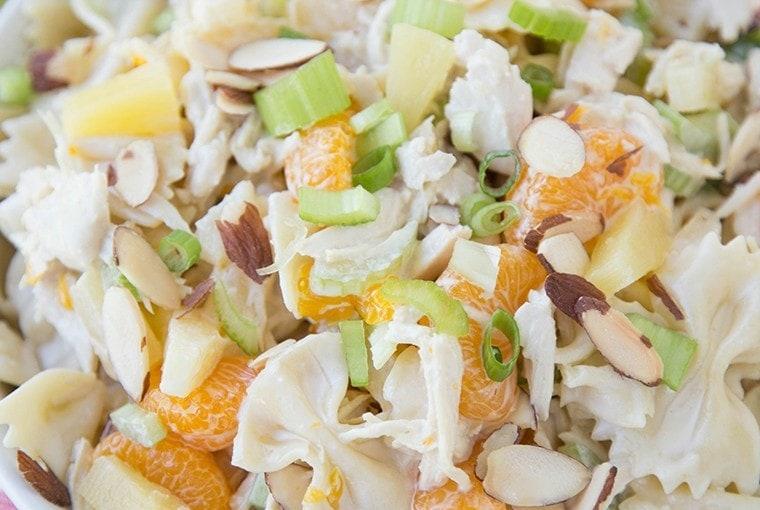 Tropical Chicken Pasta Salad