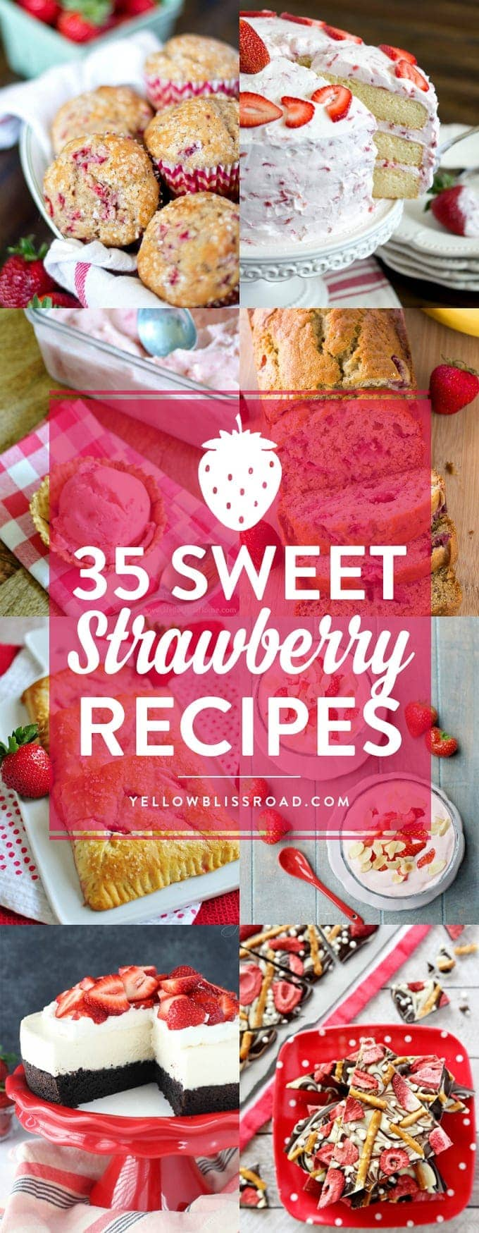 35 Sweet Strawberry Recipes