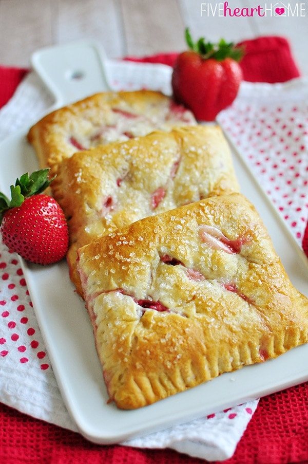 Strawberry Cream Cheese Pastries