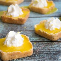 Mini Lemon Curd Tarts are a delicious dessert that's easy to make and is sure to satisfy your citrus craving!