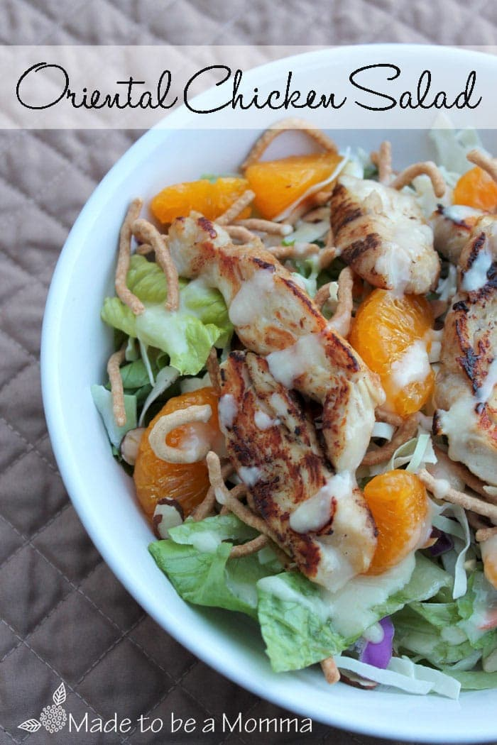 Oriental-Chicken-Salad-Made to be a Momma