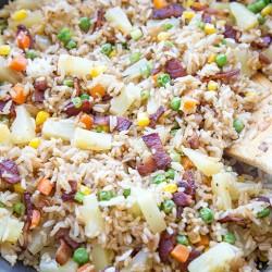 Bacon & Pineapple Fried Rice
