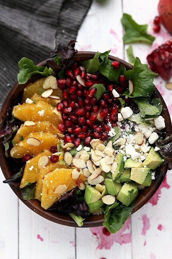 Pomegranate Orange Salad - Chelsea's Messy Apron