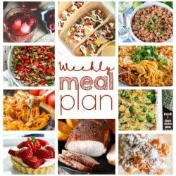 Weekly Meal Plan #9