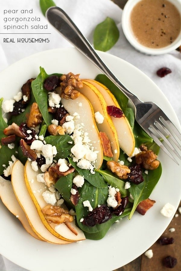 pear-and-gorgonzola-salad-Real Housemoms