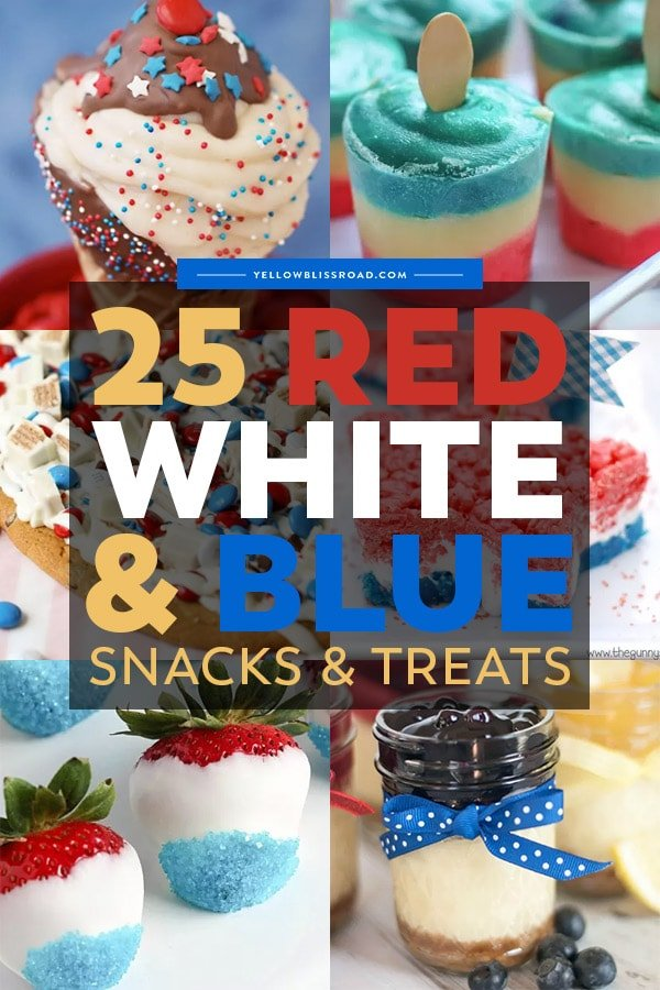 4th of July party snacks