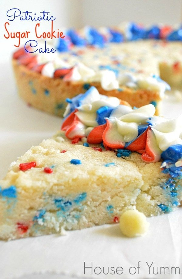 Sugar Cookie Cake