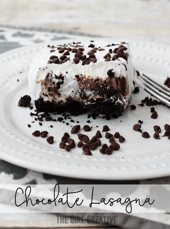 Chocolate-Lasagna-The Girl Creative
